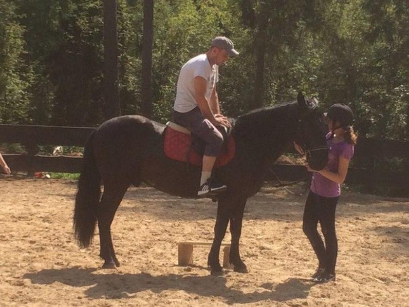 Катание на лошадях 3
