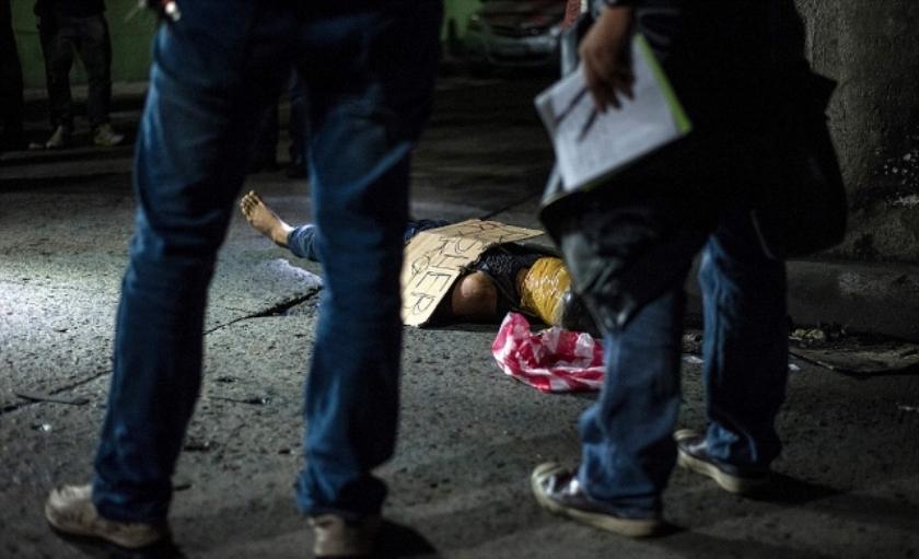 Убитые филиппинские наркодилеры