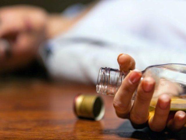 Как умирает алкоголик
