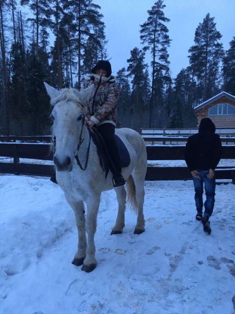 Катание на коне 2