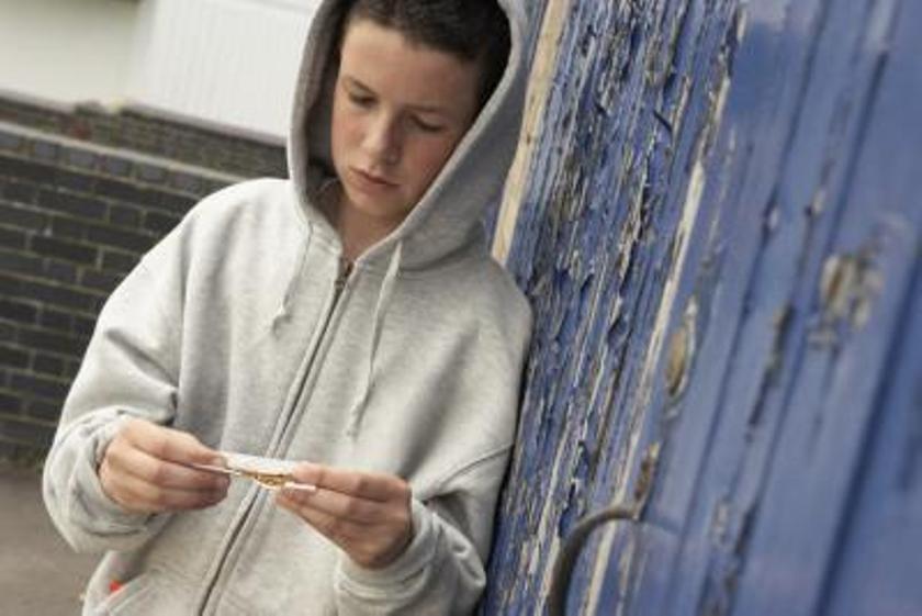 Наркомания среди школьников