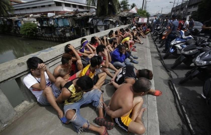 Наркоманы на Филиппинах