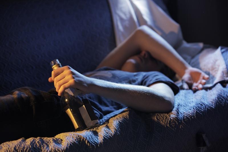 Нарушение сна при алкогольной зависимости