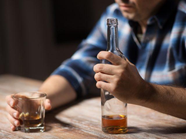 Запой у алкоголика