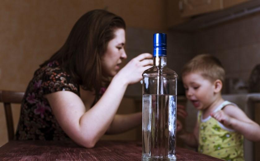 Родители - бытовые алкоголики