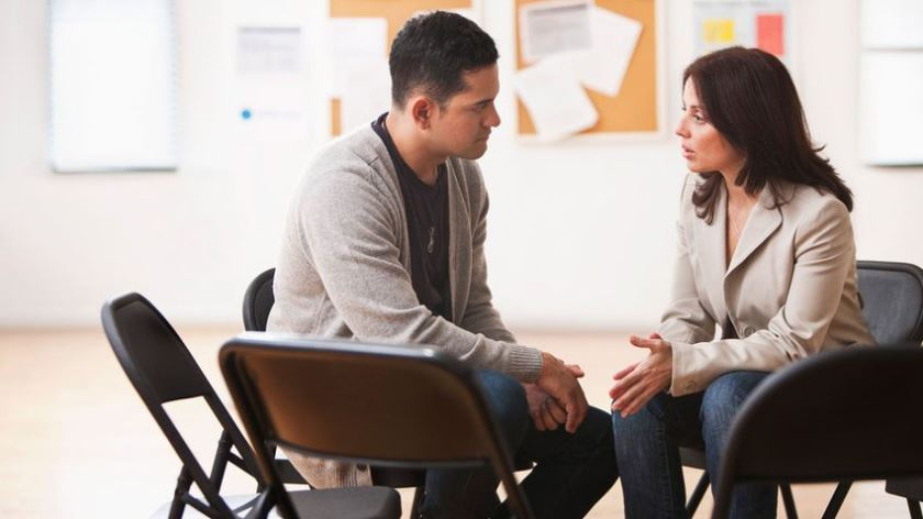 Психолог и клиент в экзистенциальном подходе к зависимости