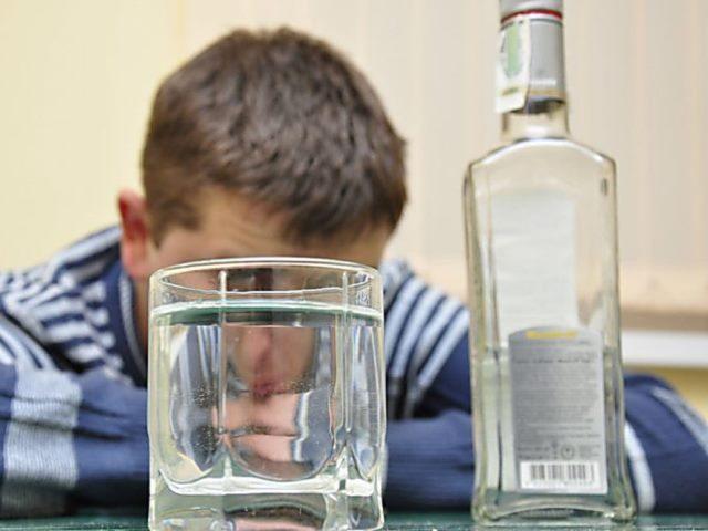 Алкоголик перед срывом